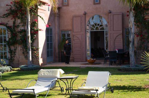 Location villa Marrakech : Personnel de maison