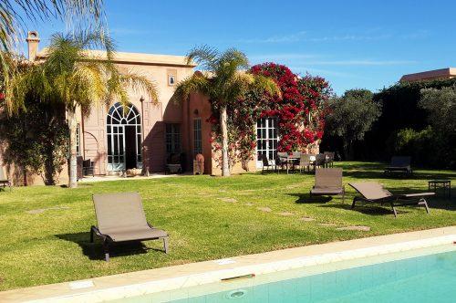 Location villa Marrakech : Piscine privée