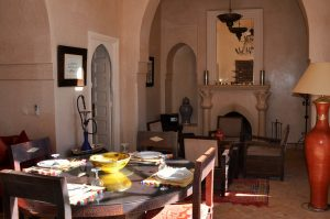 Salon villa jacaranda Marrakech