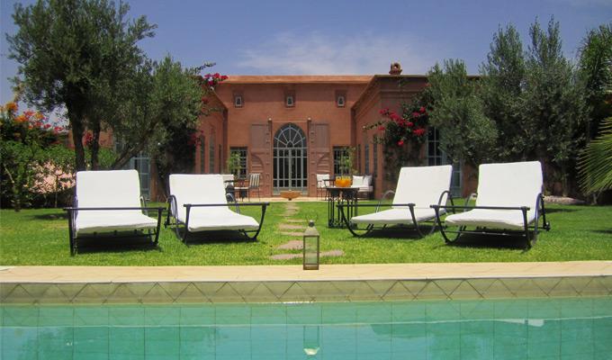 3 Bedroom villa rental garden view