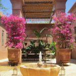 Patio Villa Jacaranda Marrakech