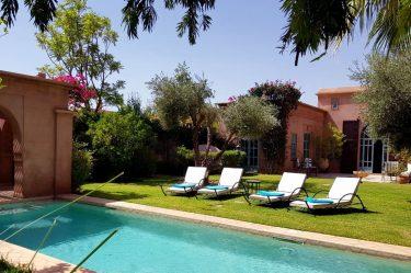 Location villa Marrakech : Villa Jacaranda 2 chambres