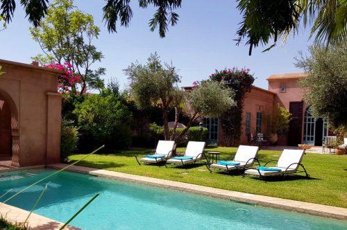 Location villa marrakech avec piscine priv e location Location maison avec piscine marrakech