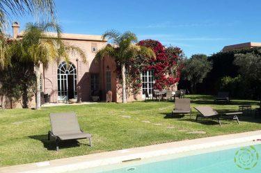 Villa Marrakech, piscine et jardin privés