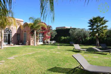 Villa Marrakech jardin privé