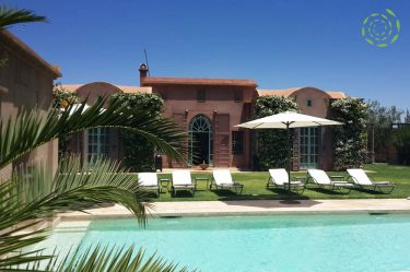 Villa Marrakech piscine jardin privés