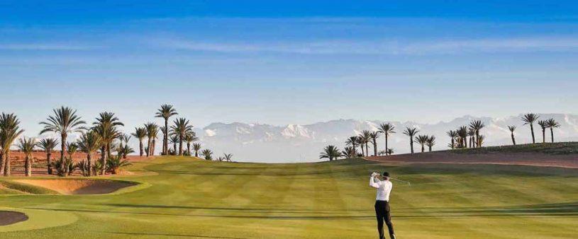 Location villa golf marakech