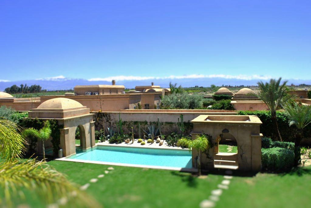 Piscine - location villa Bougainvilliers Marrakech