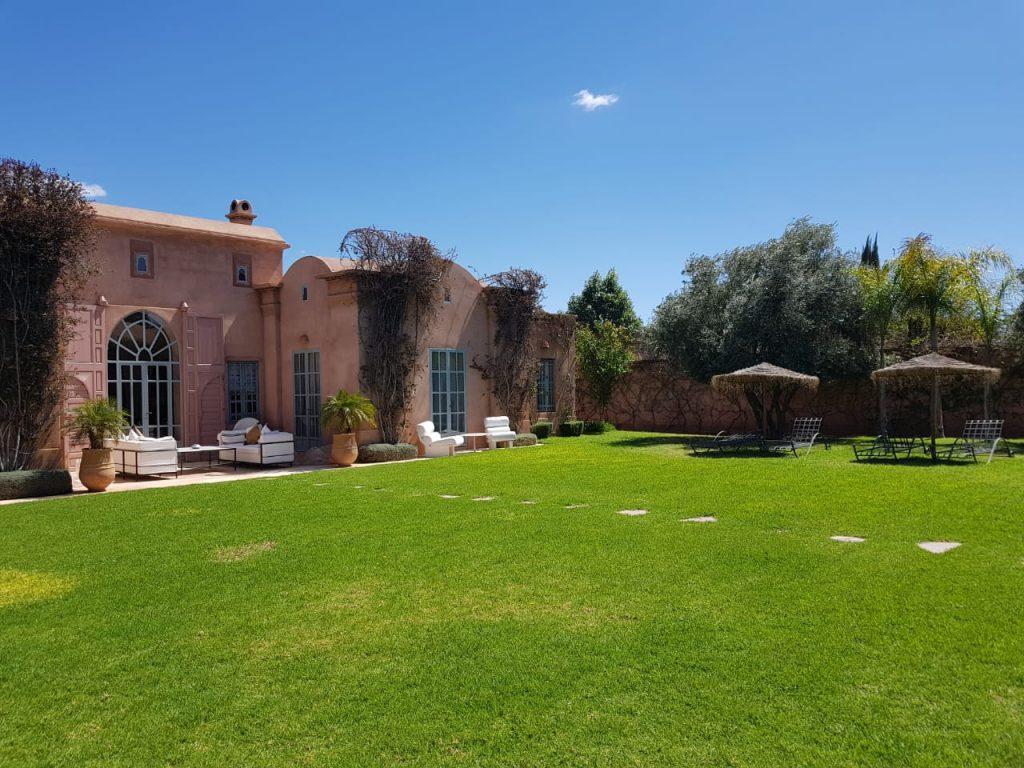 Jardin  Villa Bougainvilliers Marrakech