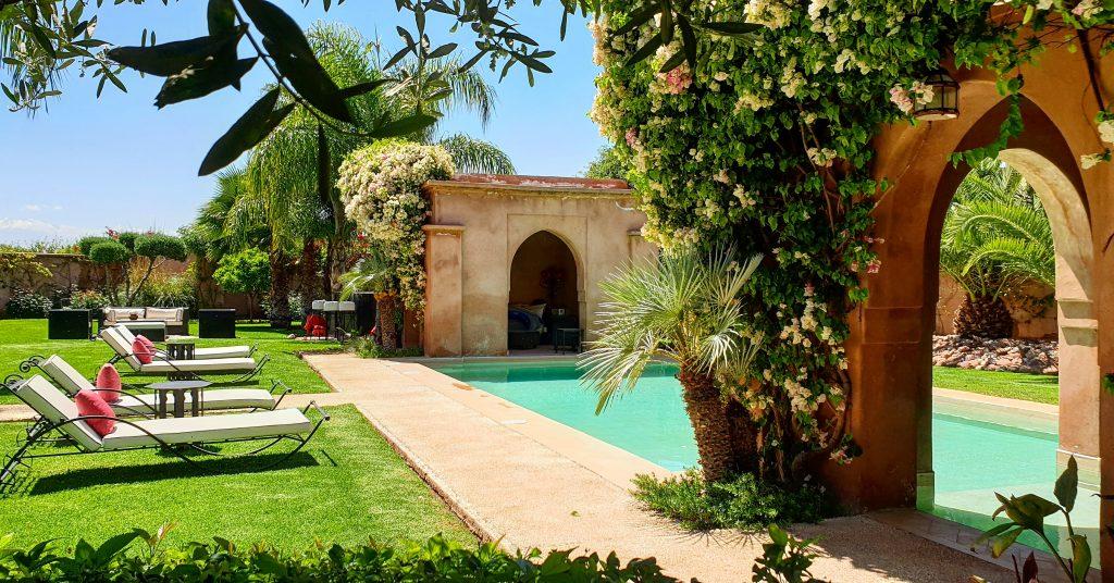 Piscine - villa vacances Marrakech
