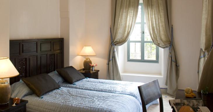 Chambre à coucher - villa bougainvilliers Marrakech