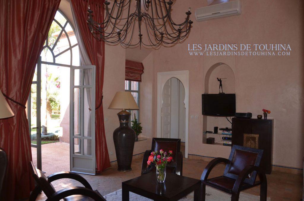 Salon - Location villa Bougainvilliers Marrakech