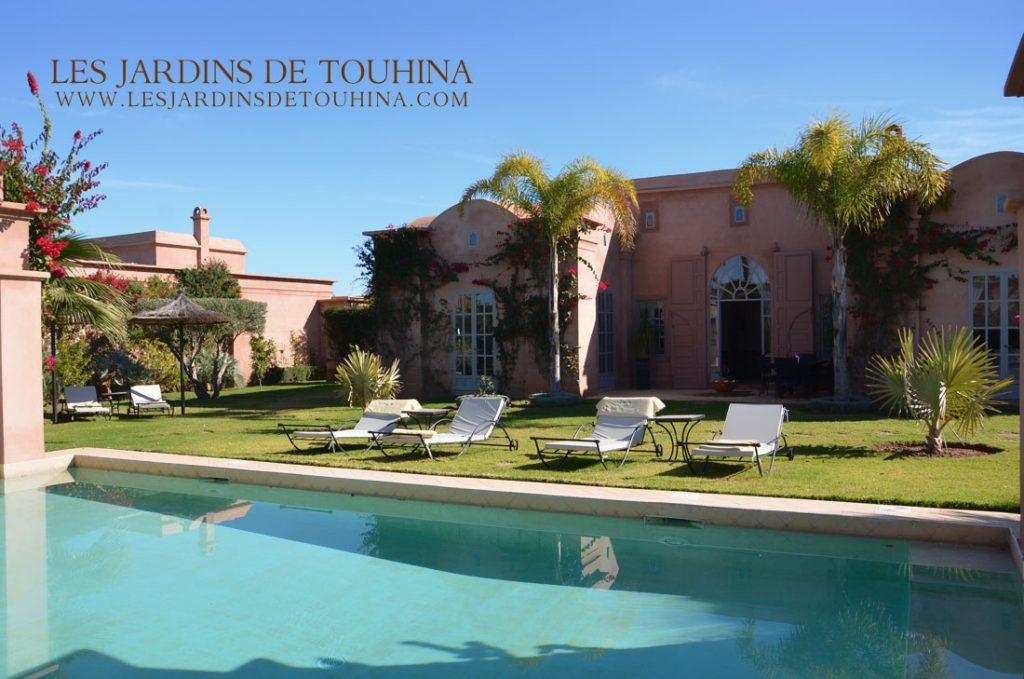 Location villa Bougainvilliers Marrakech
