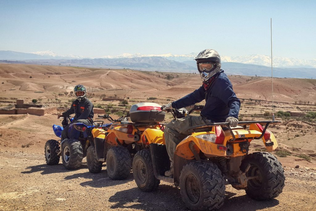 SSV and Quad in Marrakech