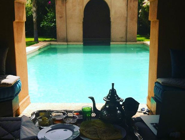 Thé marrakech