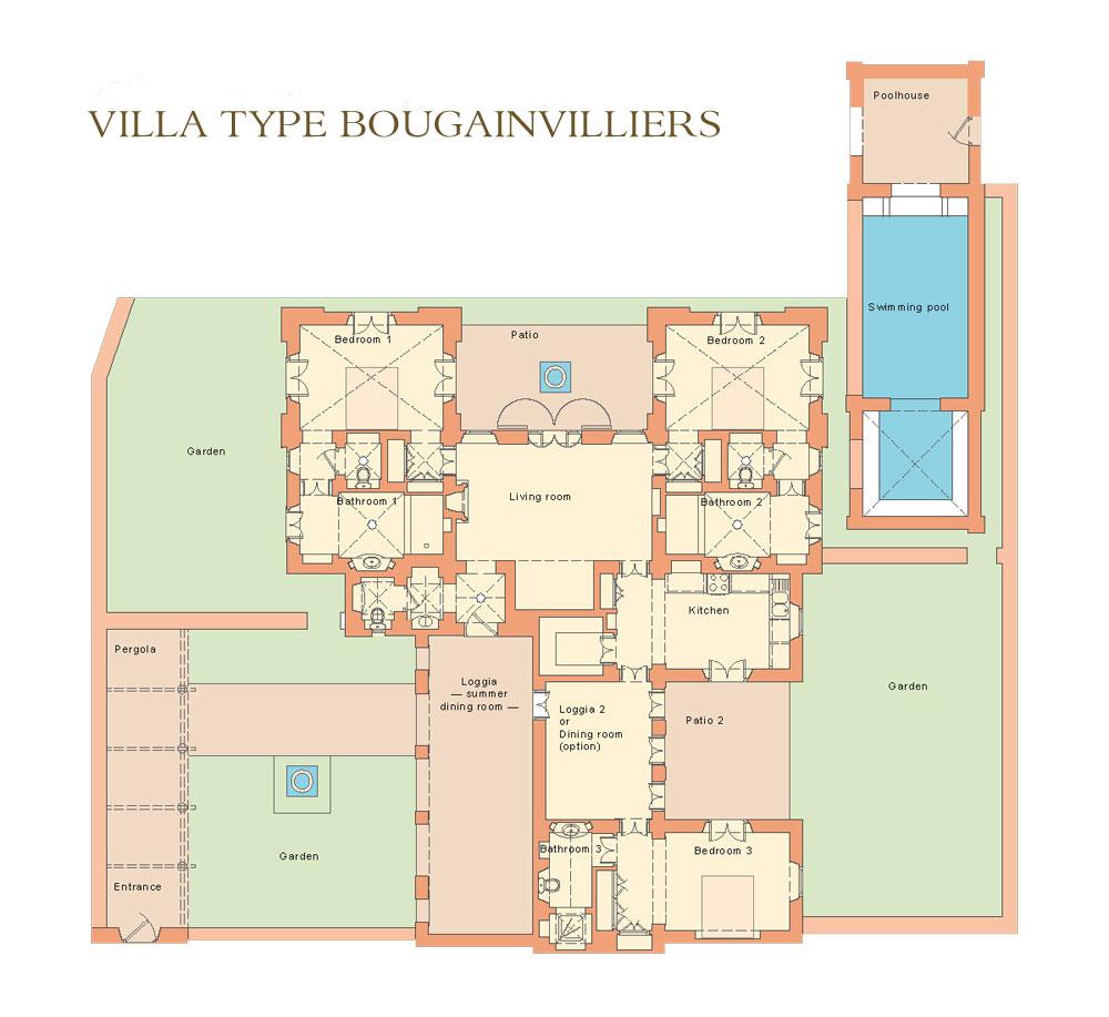 Plan villa Vacances Marrakech