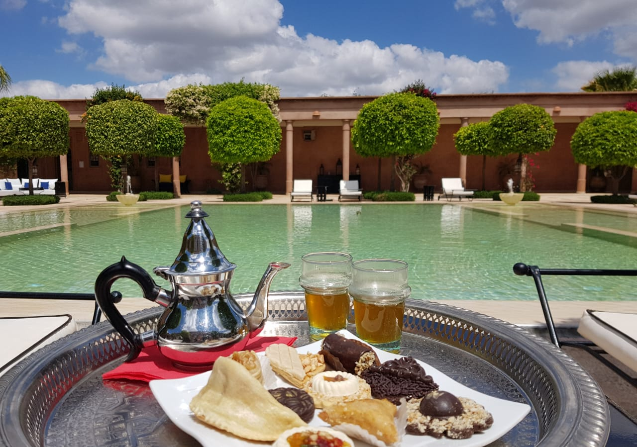 Day pass piscine Marrakech