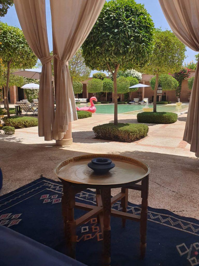 Journée piscine à Marrakech