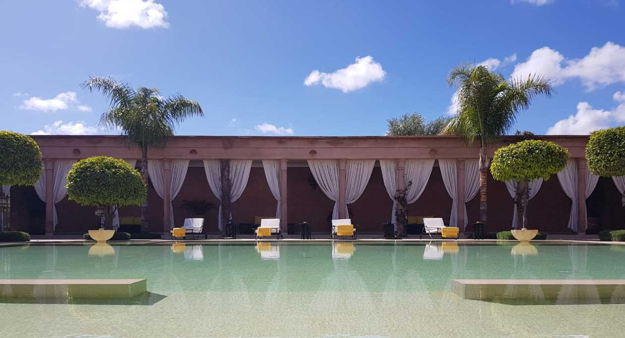 Journée piscine Marrakech